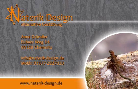 Visitenkarten Naterik Design